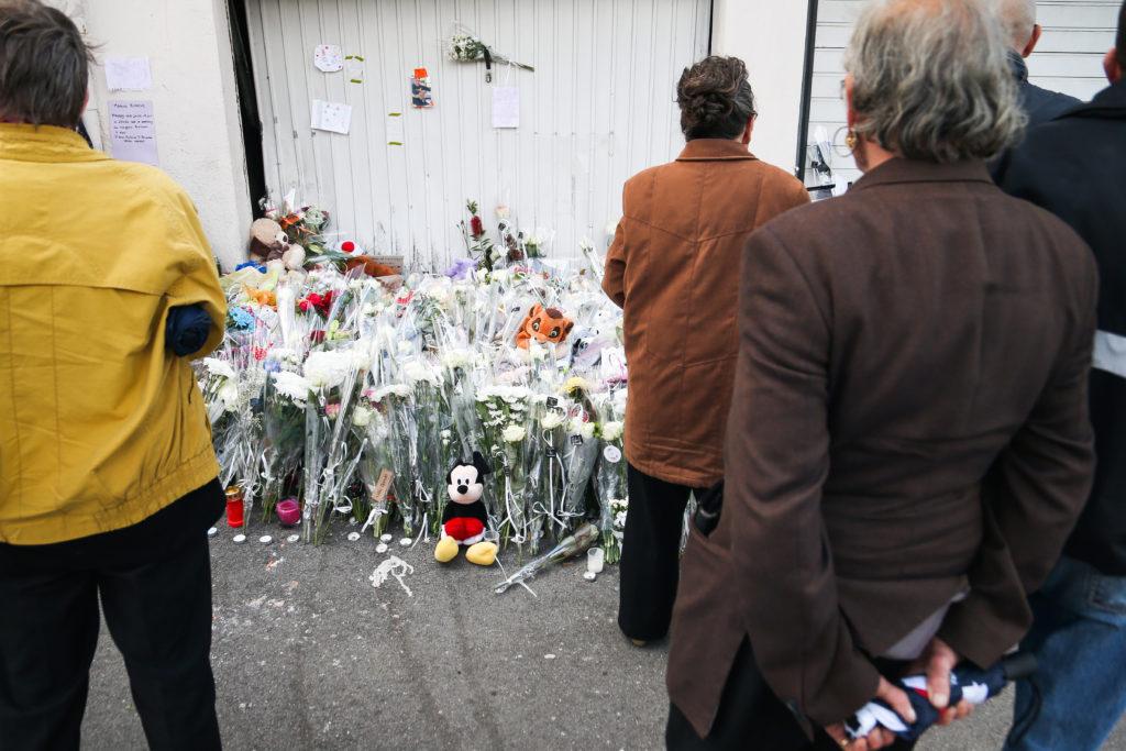 Sipa Press - Marche Blanche en hommage à un enfant tué par un chauffard, à Lorient, le 13 juin 2019.